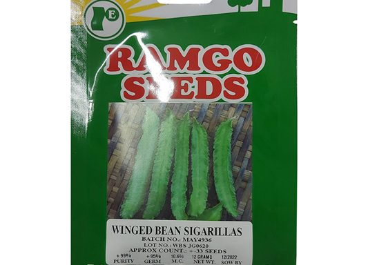Winged Bean Sigarillas